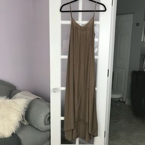 Dresses & Skirts - Nude brown high low